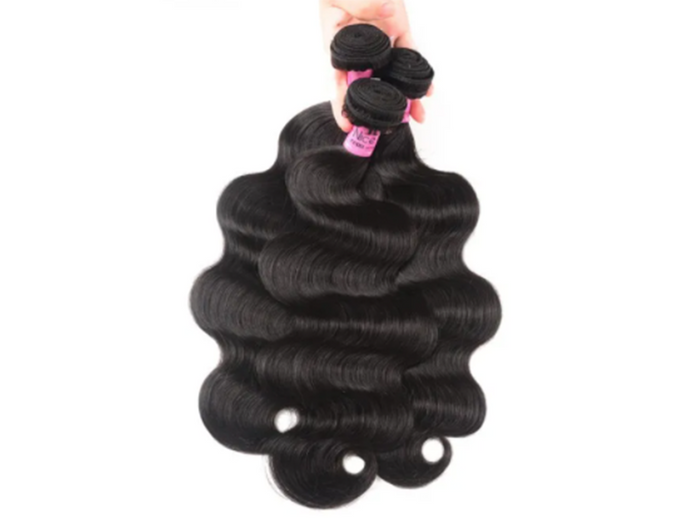 UNice Hair Body Wave Indian x 3 Bundles
