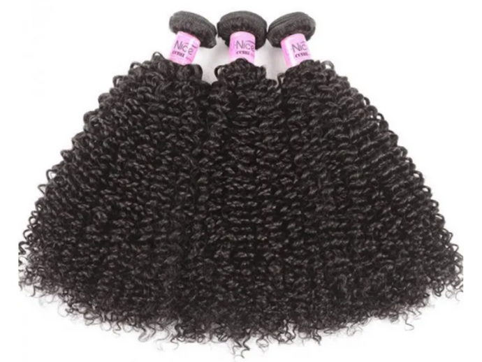 UNice Hair Curly Indian x 3 Bundles