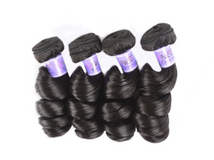 UNice Hair Loose Wave Peruvian x 4 Bundles