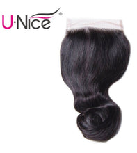 Load image into Gallery viewer, UNice Hair 13 x 4 Peruvian Frontal Closure