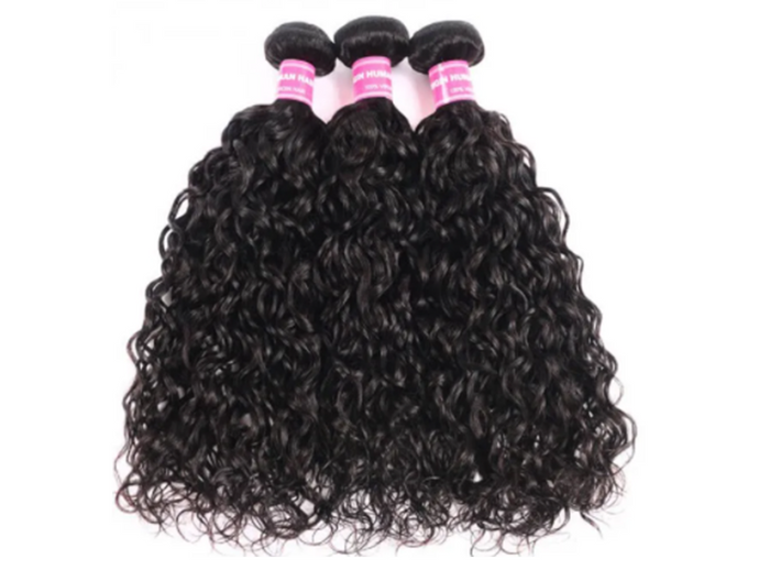 UNice Hair Water Wave Peruvian x 3 Bundles