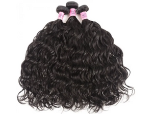 UNice Hair Natural Wave Malaysian x 3 Bundles