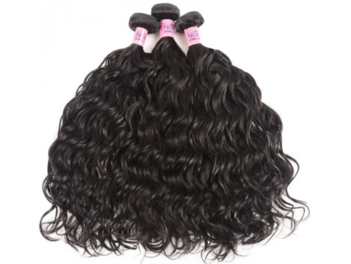 UNice Hair Natural Wave Indian x 3 Bundles