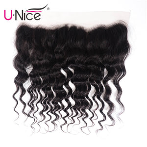 UNice Hair 13 x 4 Peruvian Frontal Closure