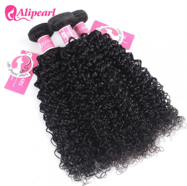 Alipearl Hair Curly Brazilian x 3 Bundles
