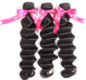 Alipearl Hair Loose Deep Wave Malaysian x 3 Bundles
