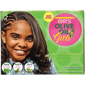 ORS Olive Oil Girls No-Lye Conditioning Hair Relaxer System