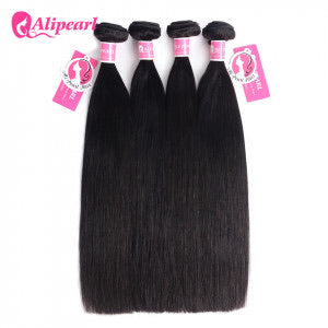 Alipearl Hair Straight Peruvian x 4 Bundles