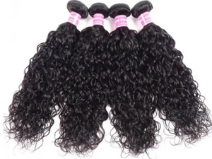 UNice Hair Water Wave Brazilian x 4 Bundles