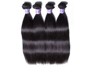 UNice Hair Straight Indian x 4 Bundles