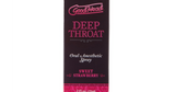 Good Head Menthol Strawberry Throat Numbing Spray