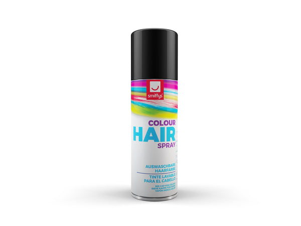 Temporary Hair Colour Spray, Black
