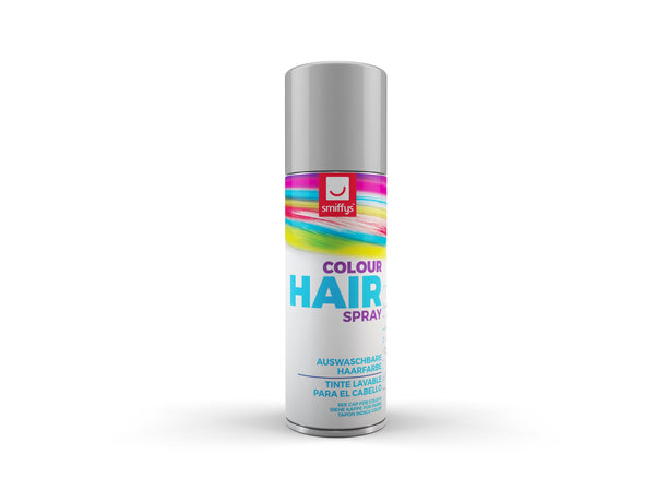 Temporary Hair Colour Spray, Silver