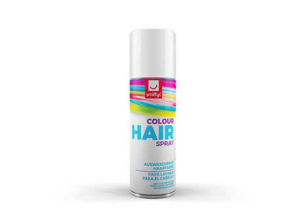 Temporary Hair Colour Spray, White