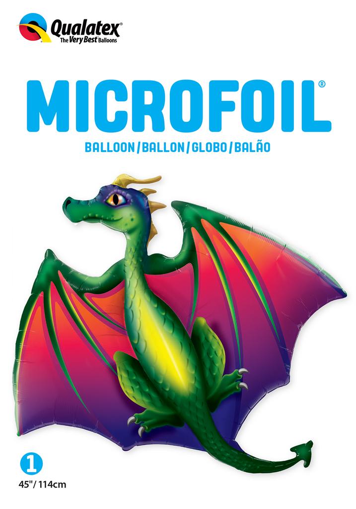 Mythical Dragon Foil Balloon | Helium Is Included |.