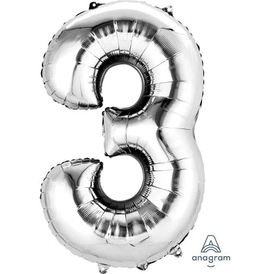 "34"" Giant Foil Number Balloon 