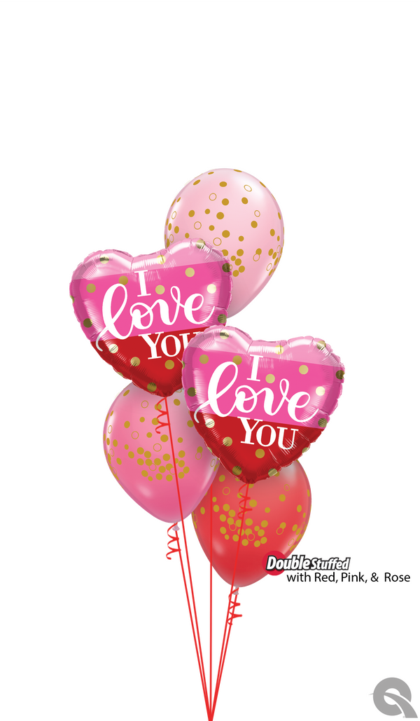 Three Little Words… Balloon Bouquet