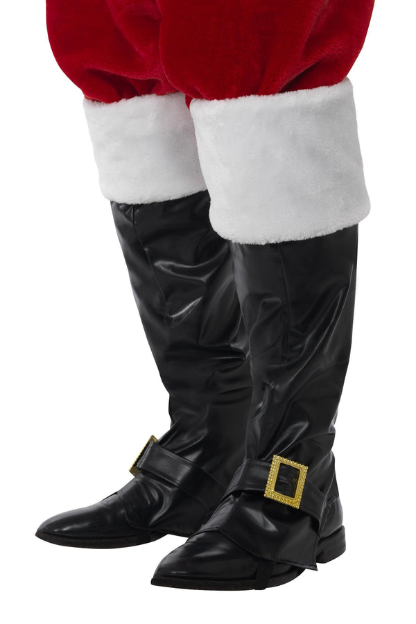 Santa Boot Covers, Black