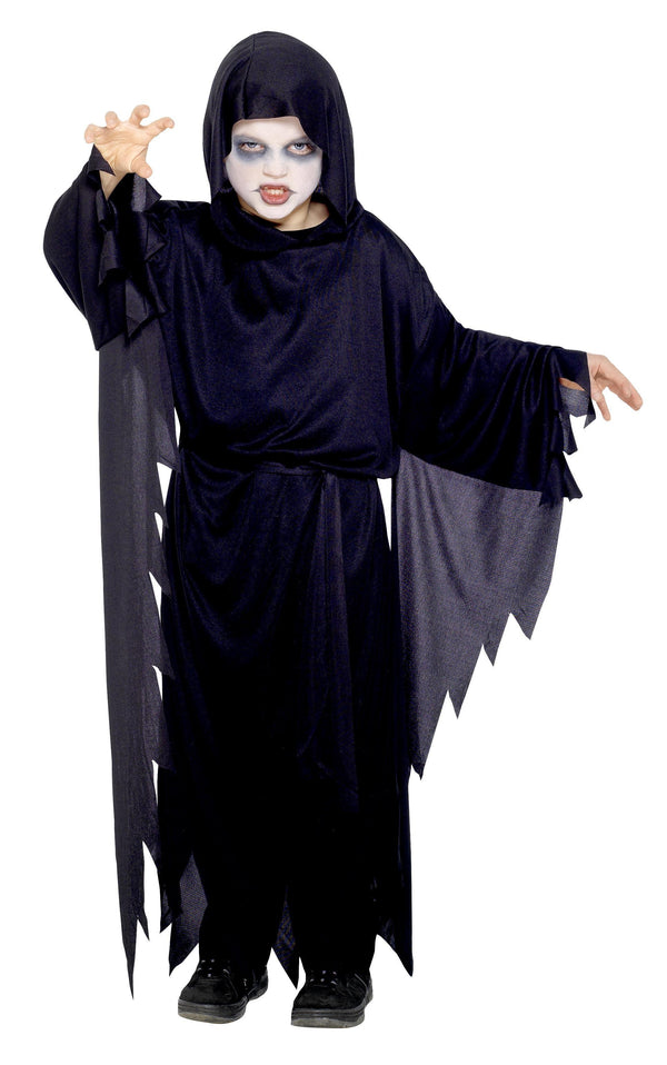 Screamer Ghost Costume, Black