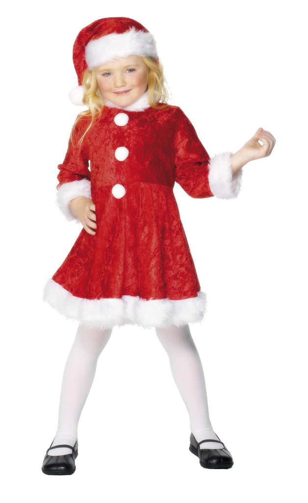 Mini Miss Santa Costume