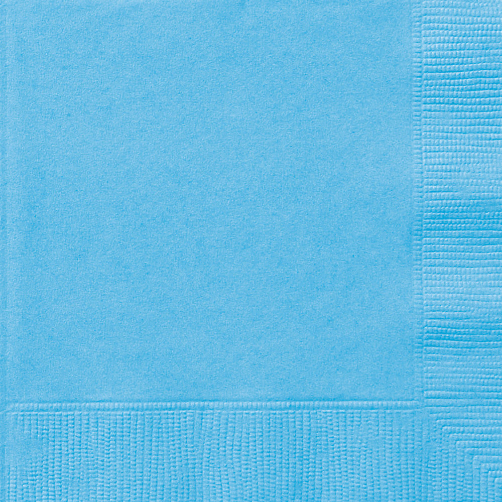 Powder Blue Luncheon Napkins - Pack of 50