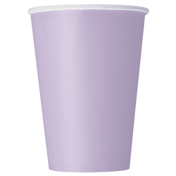 Lavender 12oz Paper Cups - Pack Of 10