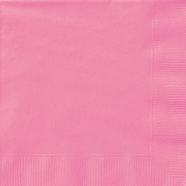 Hot Pink Luncheon Napkins - Pack of 50