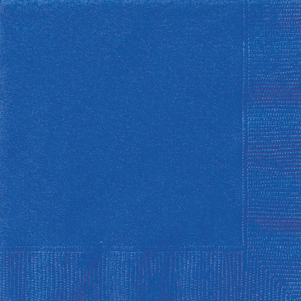 Blue Beverage Napkins - Pack of 20