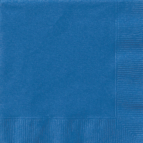 Blue Luncheon Napkins - Pack of 50