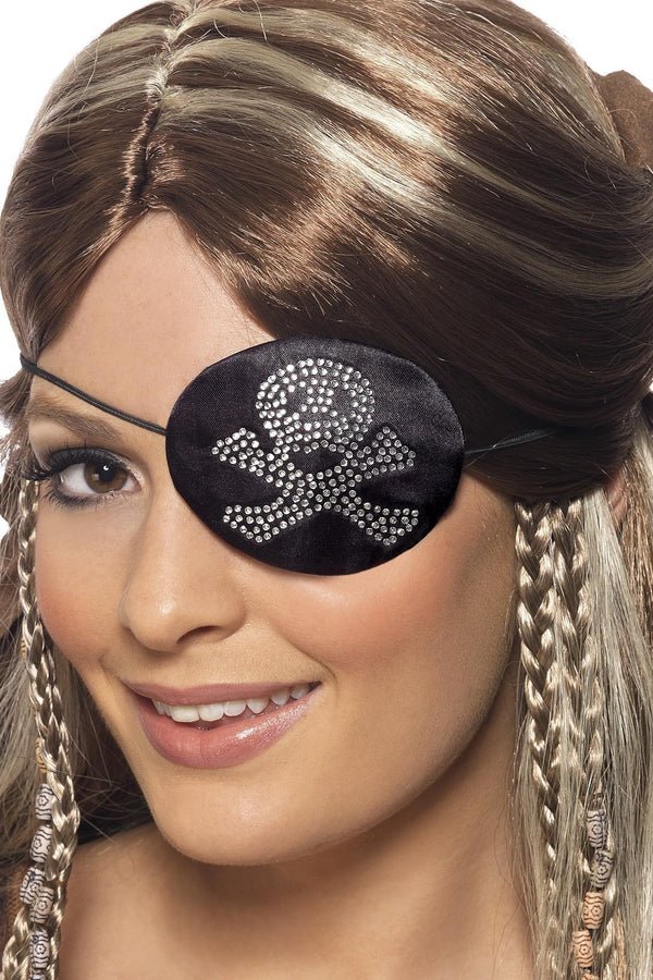 Pirates Eyepatch with Diamante Motif