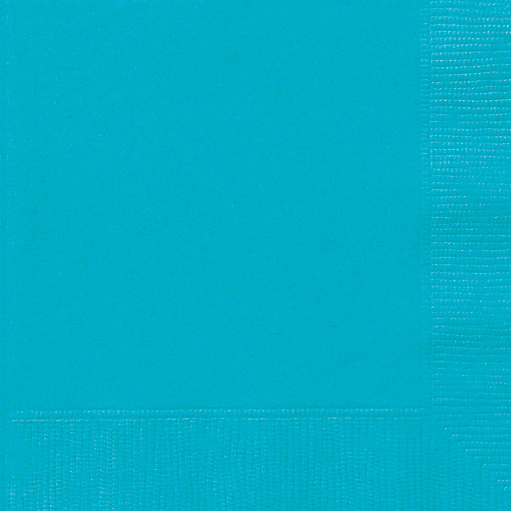 Teal Luncheon Napkins - Pack of 50