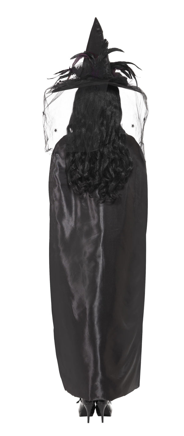Deluxe Witch Cape, Black