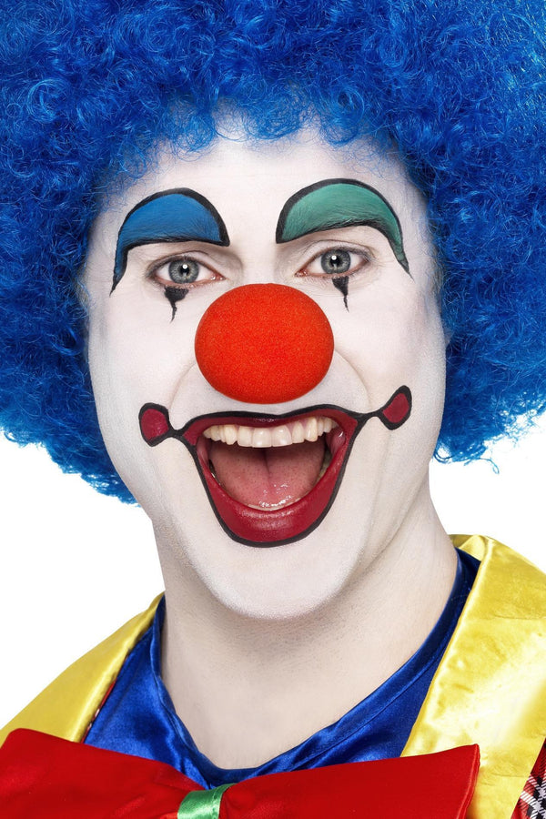 Crazy Clown Wig, Blue