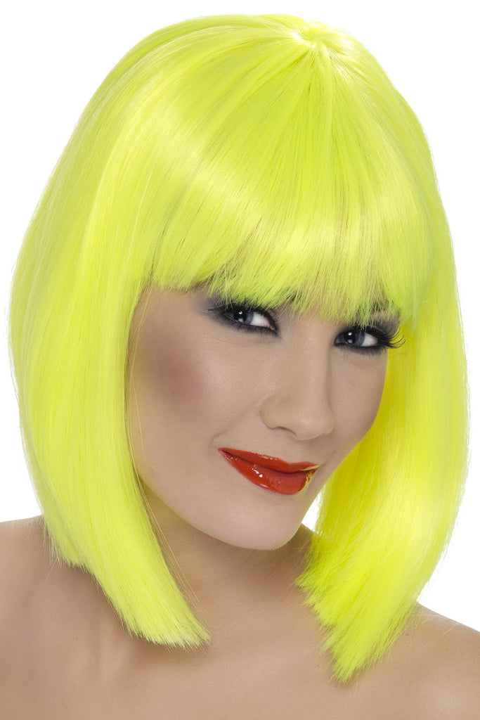 Glam Wig, Neon Yellow