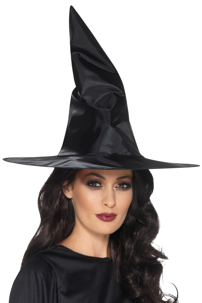 Witch Hat, Black, Shiny