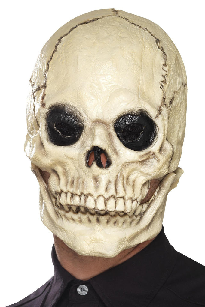 Skull Mask, Foam Latex, White