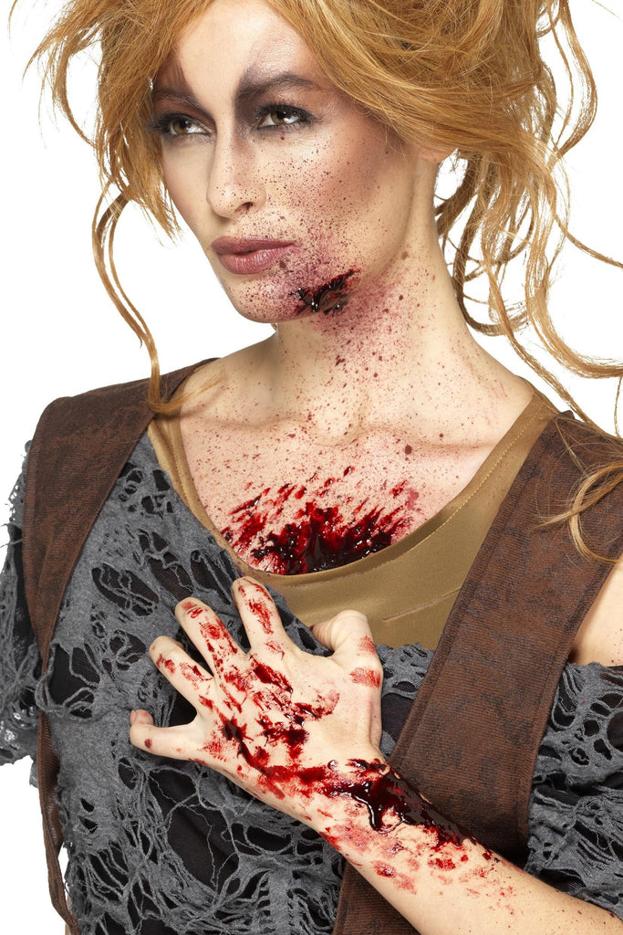 Make-Up FX, Scab Blood, Dark Red, Dries Realistic