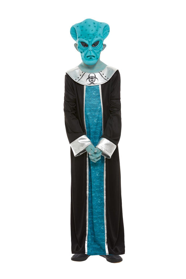 Alien Kids Costume, Blue
