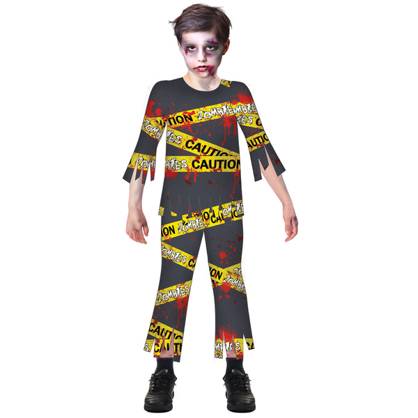 Caution Zombie Costume