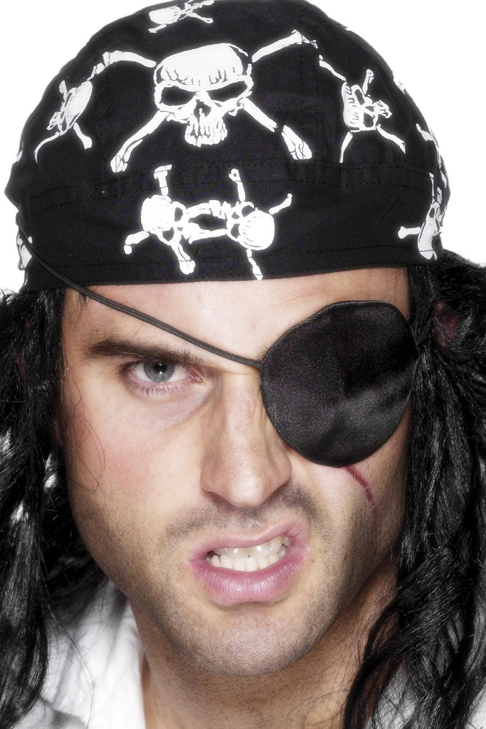 Deluxe Pirate Eyepatch, Black