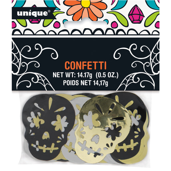 Day of the Dead Foil Confetti