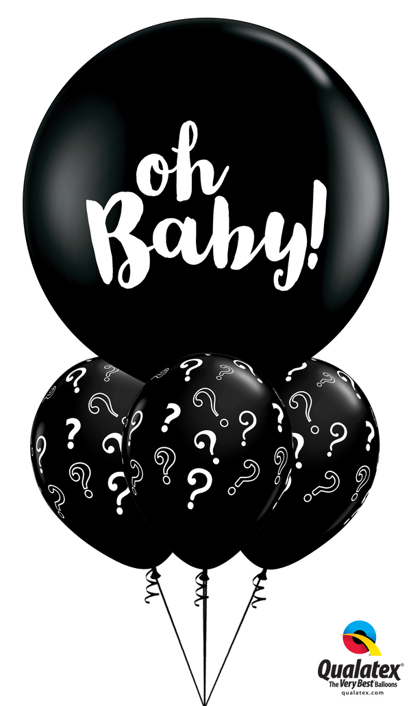 "Big ""Oh, Baby!"" Question Mark Bouquet"