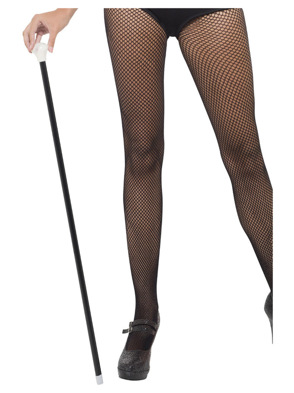 20s Style Dance Cane, Black