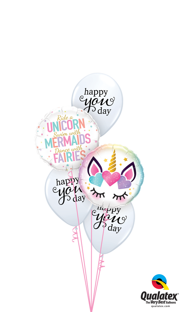 Just Be Yourself Balloons Bouquet