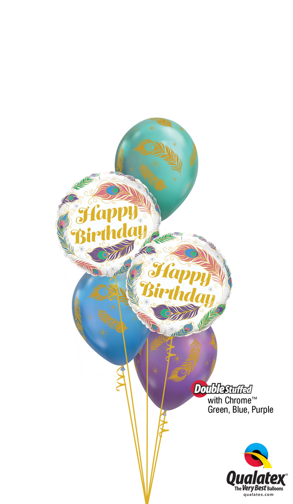 One-of-a Kind Wonderful! Birthday Balloons Bouquet