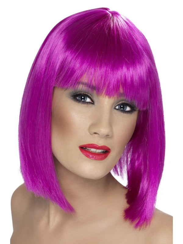 Glam Wig, Neon Purple