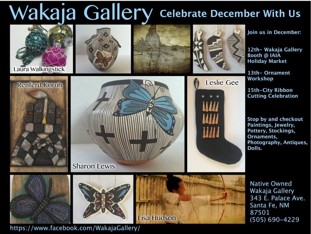 Native american ornaments -  Native American Ornaments New Work Ornaments Celebrate December With Wakaja Gallery