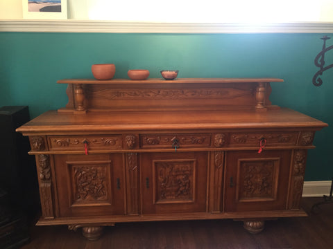 Danish buffet and Curio Set