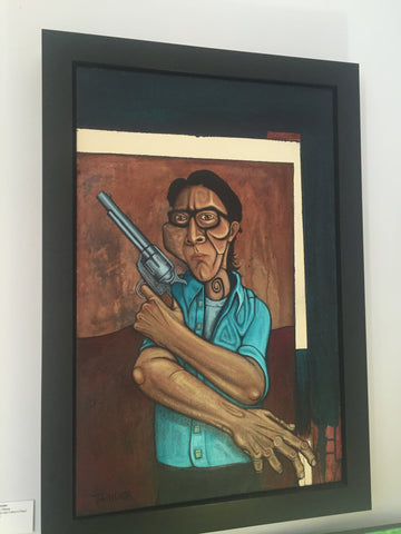 Son: Self Portrait with Father's Pistol