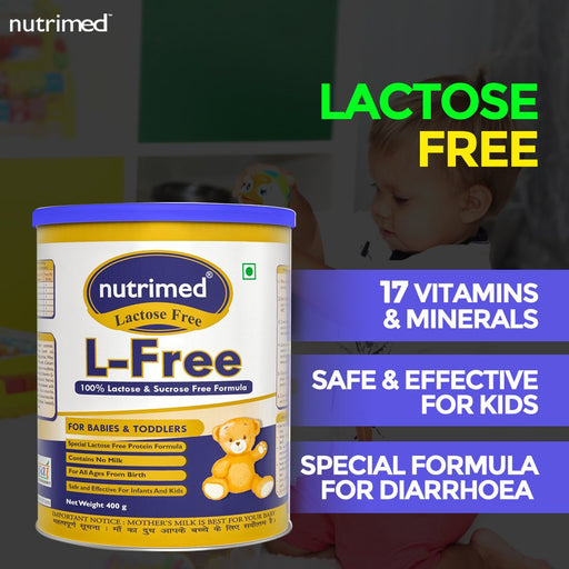 L-free Anti Diarrhea - (For Babies & Toddlers) 200gm - nutrimedmain